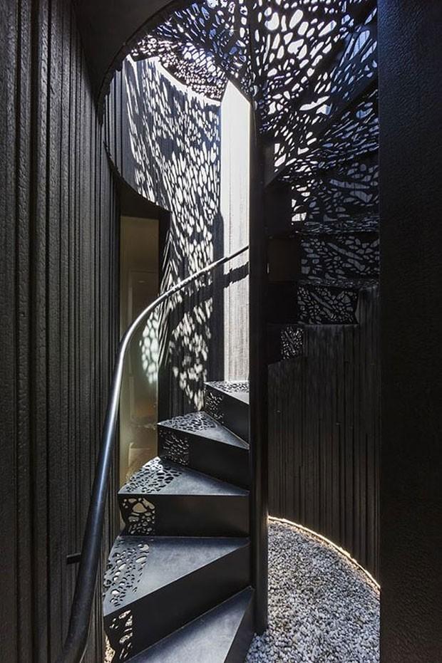 Ideias de escadas (Foto: Dust / Divulgação)