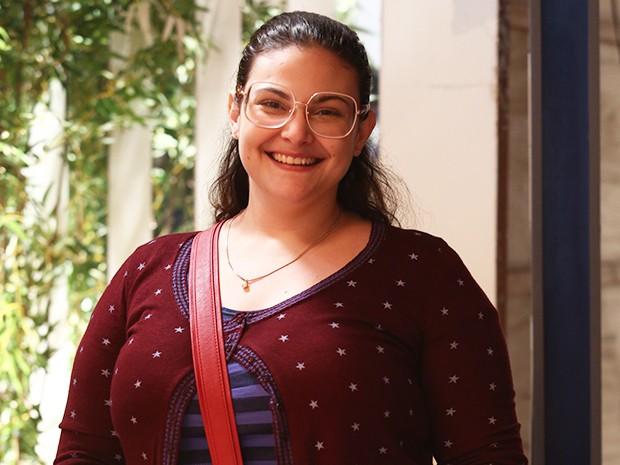 Raquel Fabbri está focada em mudar de vida e quer peder, no mínimo, 15 quilos (Foto: Raphael Dias/Gshow)