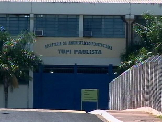 Presos foram mortos na penitenciária de Tupi Paulista (Foto: Reprodução/TV Fronteira)