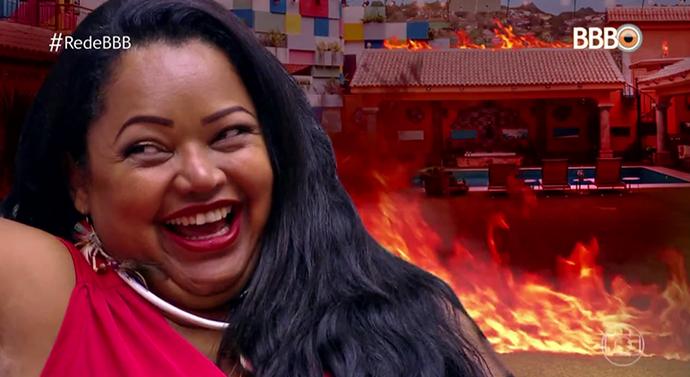 Elis é a 'agente do caos' do BBB17 (Foto: TV Globo)