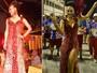 Rainha de bateria da União da Ilha usa vestido que foi usado por miss transex