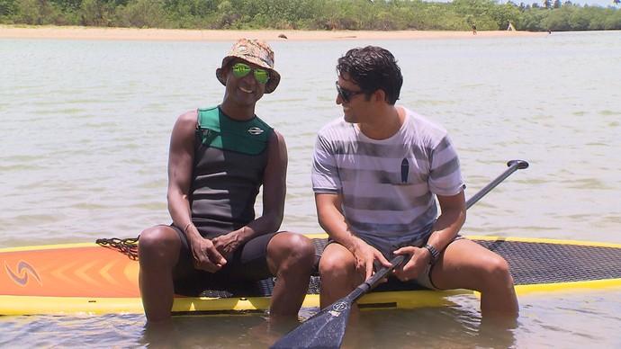 Luiz Miranda pede consciência no Carnaval (Foto: TV Bahia)