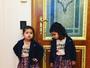 Gêmeas de Dentinho e Dani Souza posam cheias de estilo: 'Modelos'
