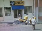 Quadrilha rouba agência dos Correios em Nazaré Paulista, SP