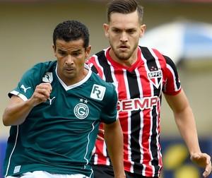 Bruno Mineiro jogo Goiás x São Paulo (Foto: Buda Mendes / Getty Images)