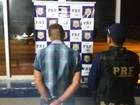 PRF prende foragido por receptação e furto na BR-364 em Ariquemes, RO