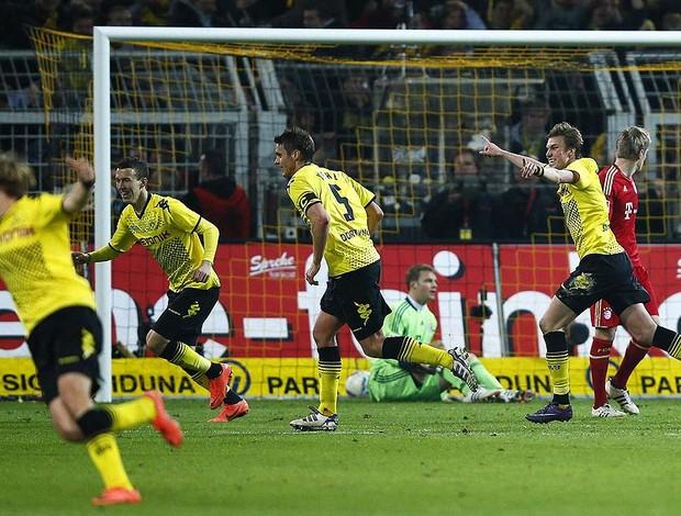 Comemoração Borussia Dortmund (Foto: Ag. Reuters)