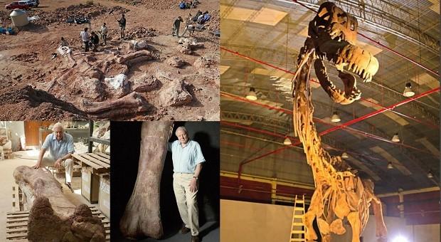 A rede britânica BBC acompanhou as escavações de especialistas na Patagônia ao longo de dois anos em busca do Dinossauro Gigante (Foto: BBC)