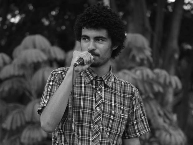 MC Gustavo Ribeiro e vestibulando da Unicamp de Campinas (Foto: Gustavo Ribeiro/ Arquivo Pessoal)