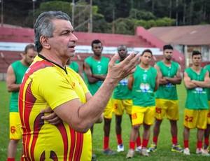 Paulo Cesar Alencar é novo técnico do Real (Foto: PC Alencar/ Facebook)
