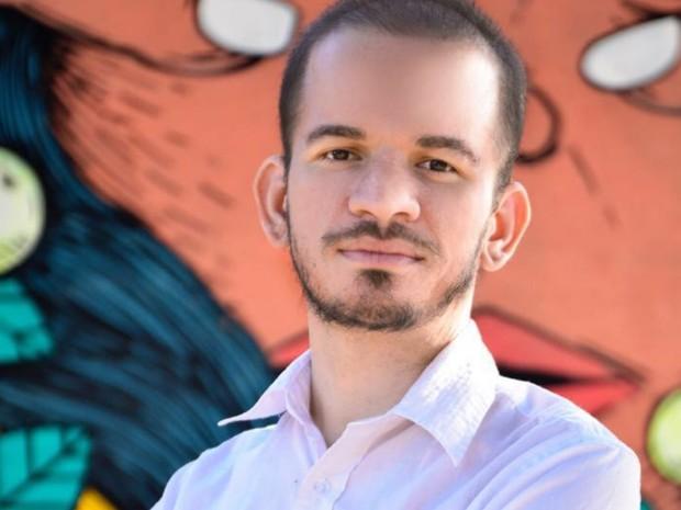 João Pulcinelli (PSOL) é vice do candidato à Prefeitura de Goiânia Flávio Sofiati (PSOL) Goiás (Foto: Divulgação/Isabela)