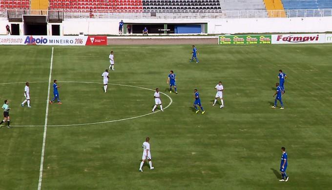URT vence o Boa Esporte por 2 a 1 em Varginha (Foto: Reprodução EPTV / Devanir Gino)