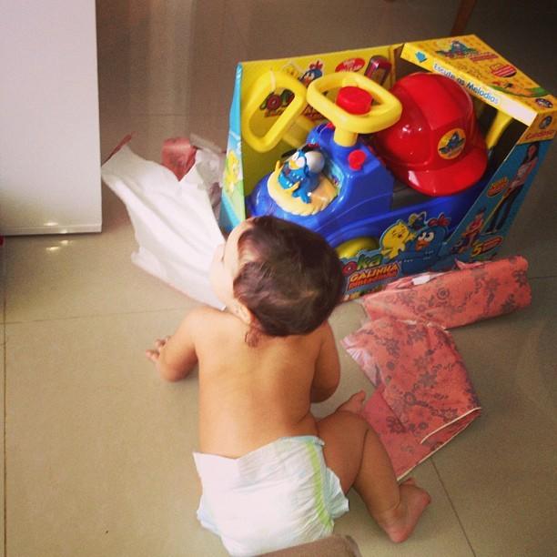 Perlla posta foto da filha, Pérola (Foto: Instagram / Reprodução)