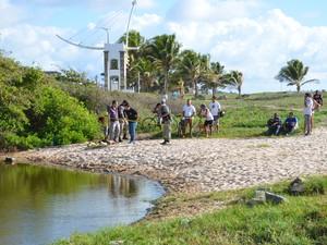 Adolescente foi encontrada morte em maceió na praia de Intermares, em Cabedelo (Foto: Walter Paparazzo/G1)