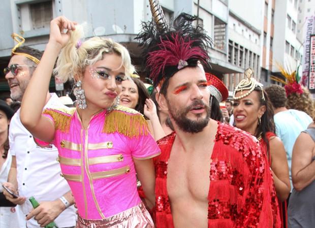 Sophie Chalortte e Daniel de Oliveira (Foto: Claudio Augusto/Brazil Nres)