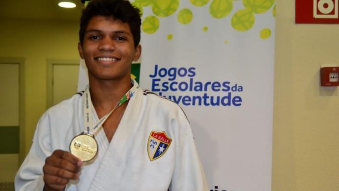 Davi Moreira é um dos convocados para a seleção brasileira de judô (Foto: Divulgação/Sejel)