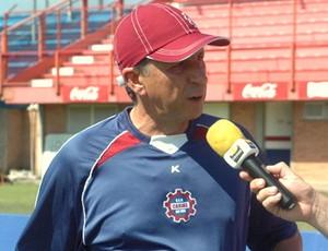 Paulo Porto foi demitido pela diretoria do Caxias (Foto: Geremias Orlandi / Divulgação Caxias)