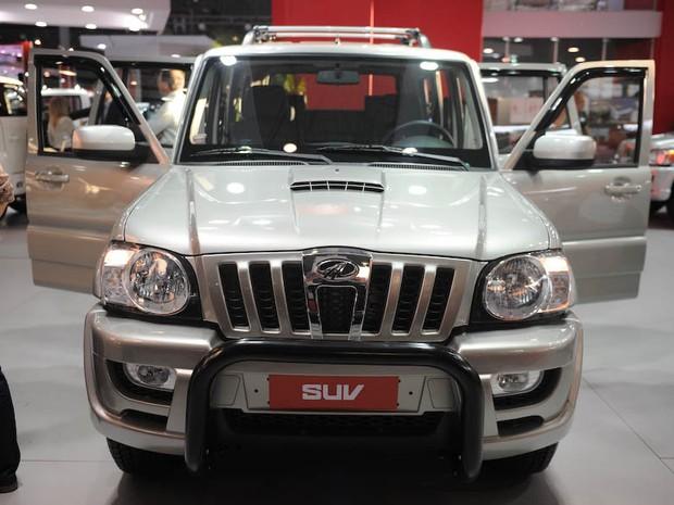 Mahindra SUV (Foto: Raul Zito/G1)
