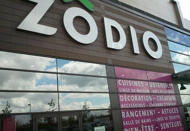 a rede francesa Zôdio, que faz parte do Grupo Adeo (Foto: Reprodução/Twitter)