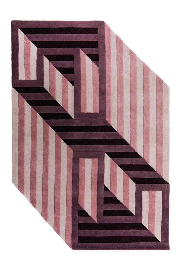 Conheça os tapetes geométricos de Juliana Vasconcellos e Matheus Barreto (Foto: Divulgação)