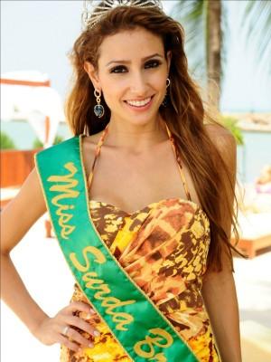 Thaisy Payo é a nova Miss Surda Brasil (Foto: Miss Surda Brasil/Divulgação)