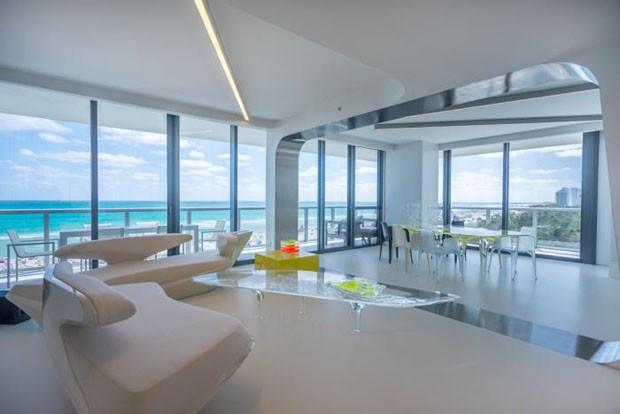 Apartamento de Zaha Hadid está a venda por US$ 10 milhões  (Foto: Divulgação)
