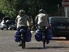 Irmãos passam por Campo Grande em viagem de bicicleta pela América