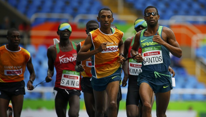 Odair Santos, prata 5.000m atletismo Paralimpíada (Foto: Reuters)