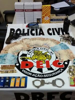 Polícia desarticula quadrilha que roubava cargas de cigarros no RS