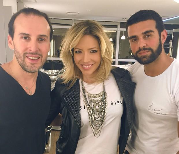Renata Dominguez, Marcos Proença e Giuliano Rezende (Foto: Divulgação/Aline Brandão)
