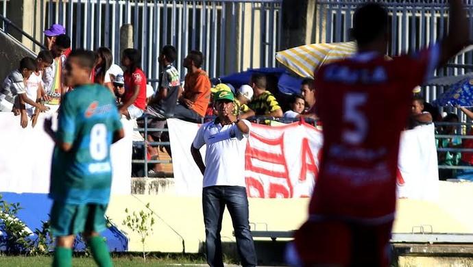 Jaelson Marcelino, técnico do Coruripe (Foto: Ailton Cruz/ Gazeta de Alagoas)