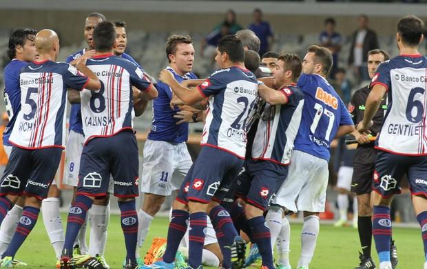 Cruzeiro x San Lorenzo (Foto: EFE)