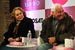 Aracy Balabanian e Luis Gustavo (Foto: Iwi Onodera/ EGO)