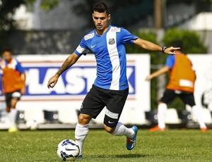 Zé Carlos, lateral do Santos (Foto: Ricardo Saibun / Divulgação Santos FC)