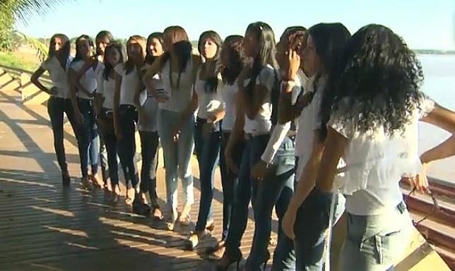 Candidatas foram selecionadas pela Cufa (Foto: Amazônia TV)