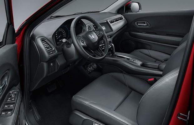 Honda revela oficialmente interior do novo HR-V (Foto: Divulgação)