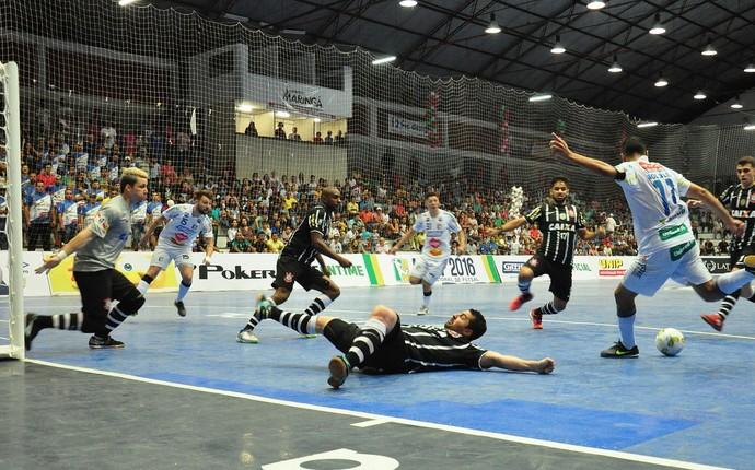 umuarama corinthinas futsal  (Foto: Bruno Vanço/Umuarama Futsal)