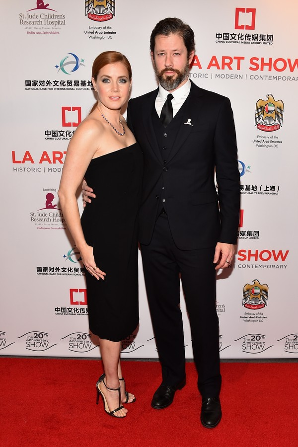 A atriz Amy Adams e seu marido, Darren Le Gallo (Foto: Getty Images)