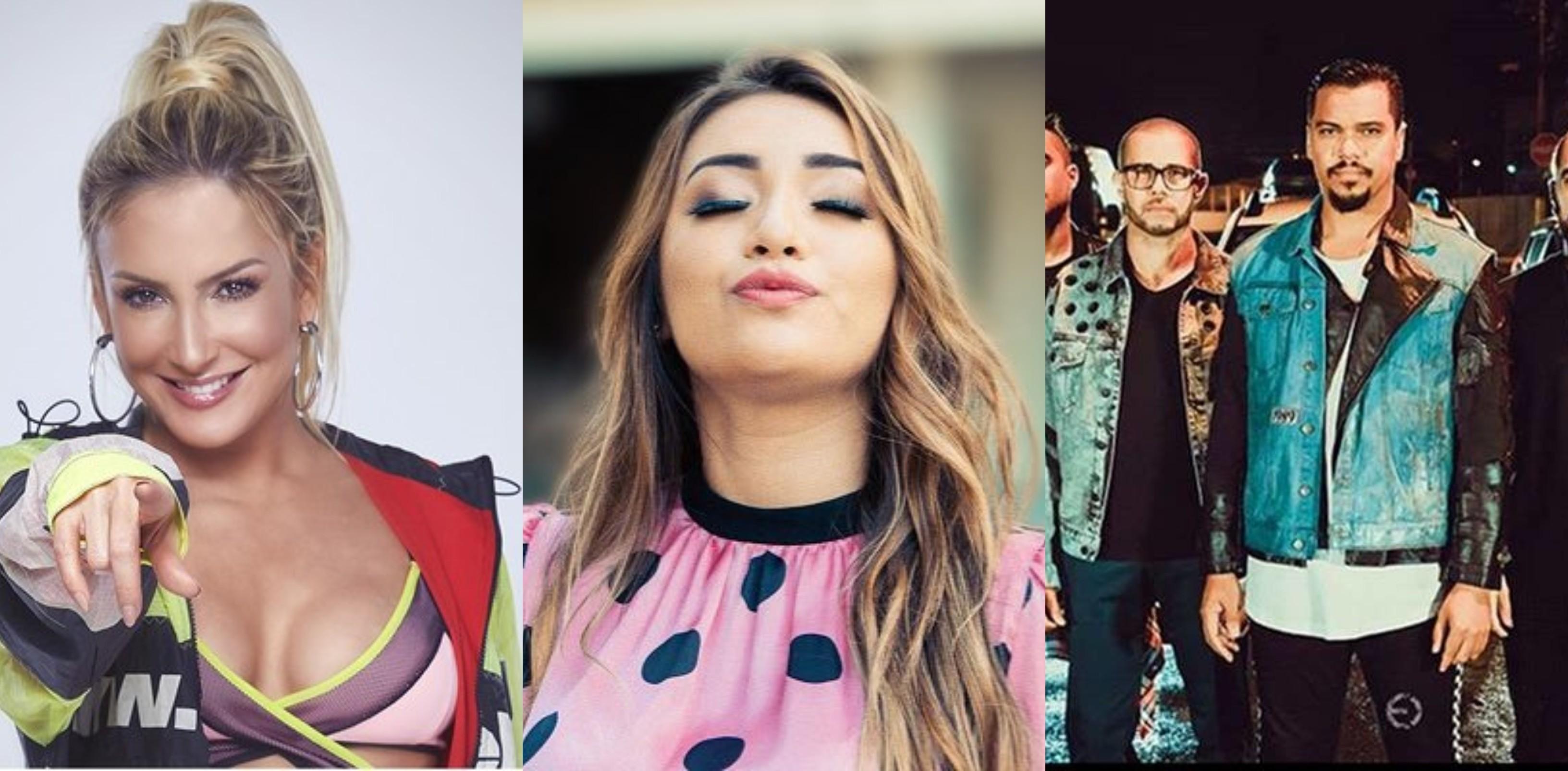 Claudia Leitte, Dani Russo e Sorriso Maroto essa semana no TVZ Ao Vivo (Foto: Divulgao)