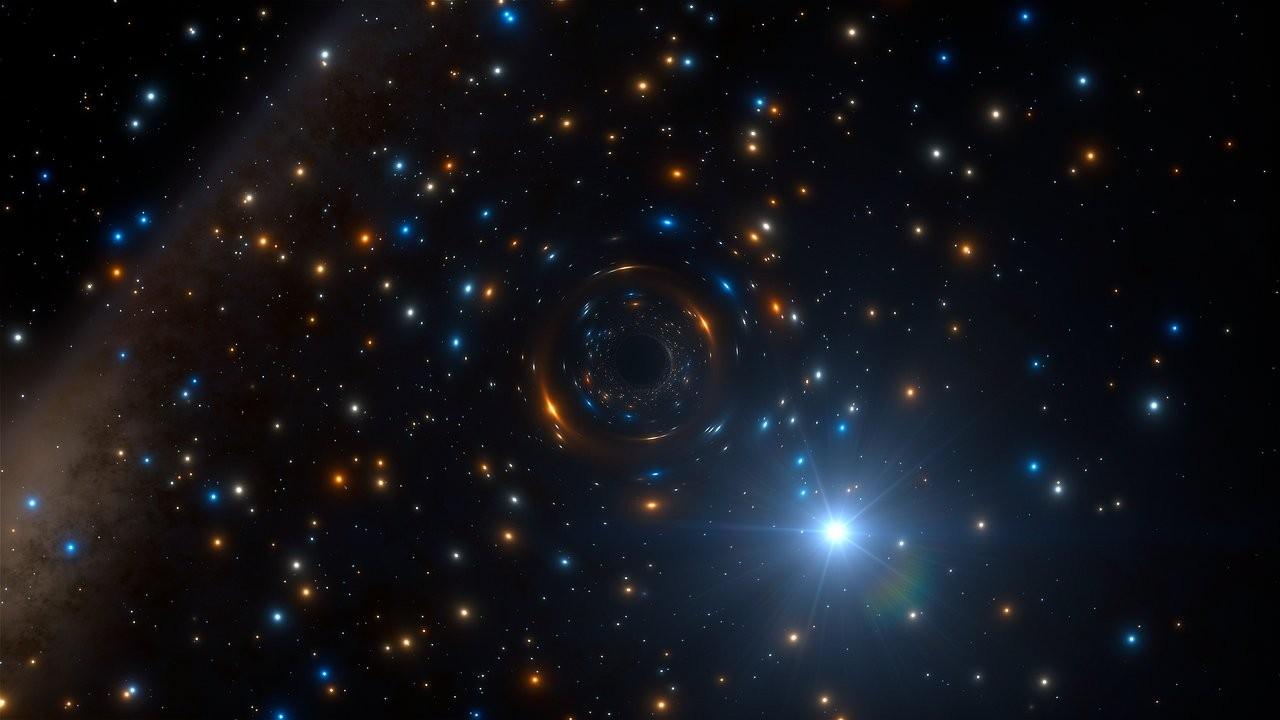 Estrela no aglomerado NGC 3201 (Foto: Divulgação/ESO)
