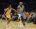 Nuggets reagem no fim e desbancam Lakers em L.A. pela pré-temporada