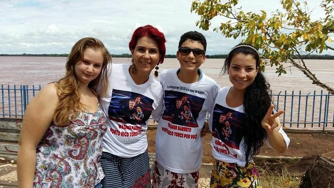 The Voice Kids - Wagner Barreto (Foto: Arquivo pessoal)