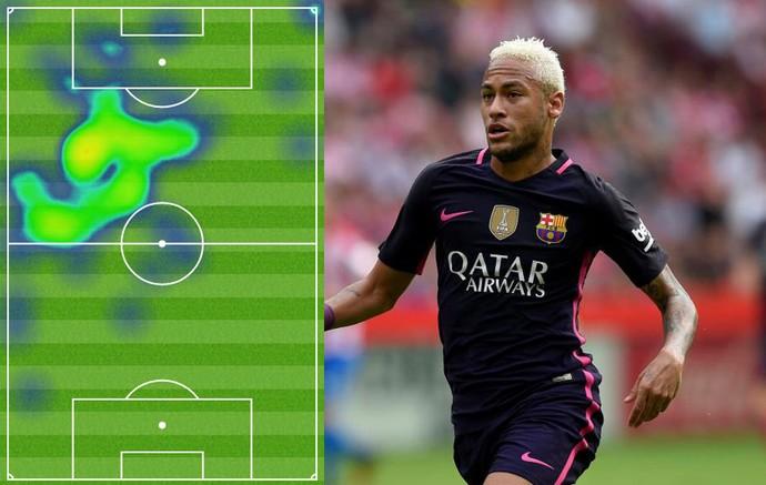 Montagem Marca Neymar Barcelona (Foto: Reprodução / Marca)