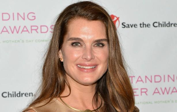 A atriz e ex-modelo Brooke Shields ('A Lagoa Azul') publicou um livro em 2005 narrando sua luta contra a depressão pós-parto. (Foto: Getty Images)
