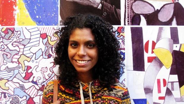 Christiane Silva Pinto, estagiária na área de RH, começou em julho deste ano no Google (Foto: Divulgação)