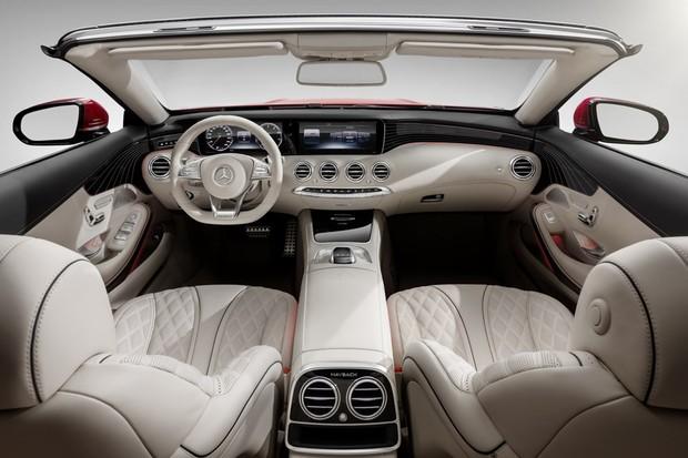 Mercedes-Maybach S650 Cabriolet (interior) (Foto: Divulgação)