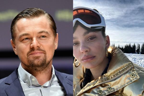 Leonardo DiCaprio e Camila Morrone (Foto: Getty Images/Reprodução Instagram)