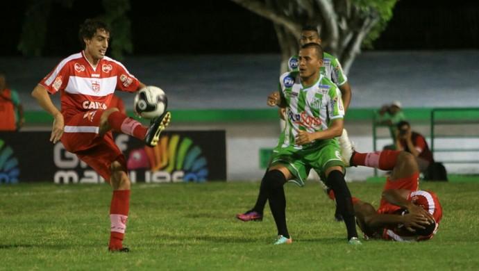 Miguelense x CRB, em Murici (Foto: Ailton Cruz / Gazeta de Alagoas)