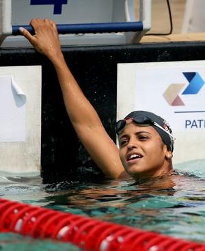 Etiene Medeiros 50m livre José Finkel natação (Foto: Satiro Sodré / SSPress / CBDA)