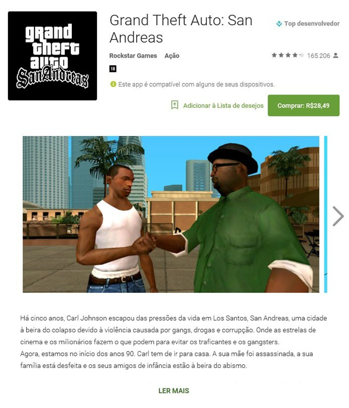 gta san andreas download para tablet android